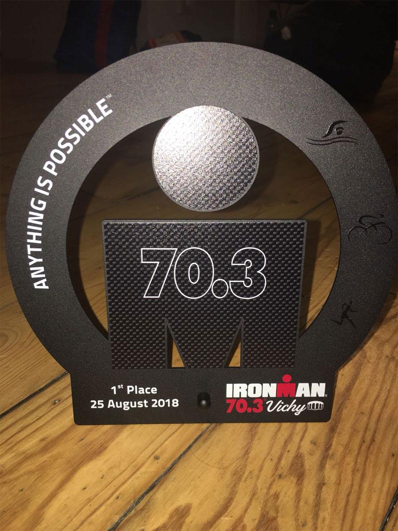 Indoor Wattbike cycling - Ironman